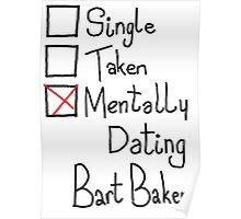 Mentally Dating Bart Baker Poster