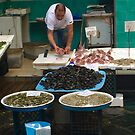 Selling Fish in Naples by Christine  Wilson