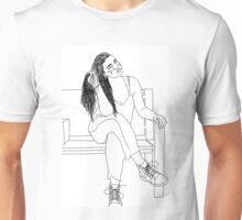 Modeling Girl Unisex T-Shirt