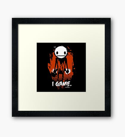 "TheMeatly - ""I Game"" Framed Print"
