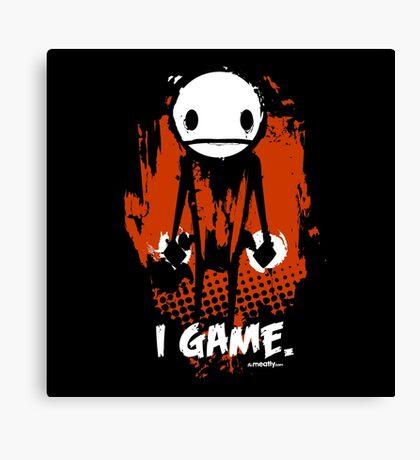"TheMeatly - ""I Game"" Canvas Print"