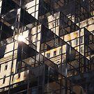Modern Architecture, Reflection, New York City by lenspiro