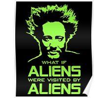 Ancient Aliens Giorgio Tsoukalos what if Poster