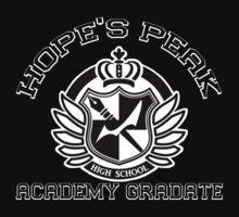 Hope's Peak Academy Graduate (Dark) by mystereoheart
