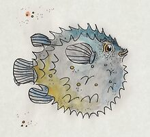 Puffer fish by inkmaid
