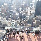 Observation Deck, Midtown Manhattan, New York City by lenspiro