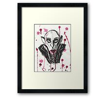 NOSFERATU BLOOD FEAST Framed Print