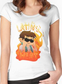 Latin Heat Women's Fitted Scoop T-Shirt