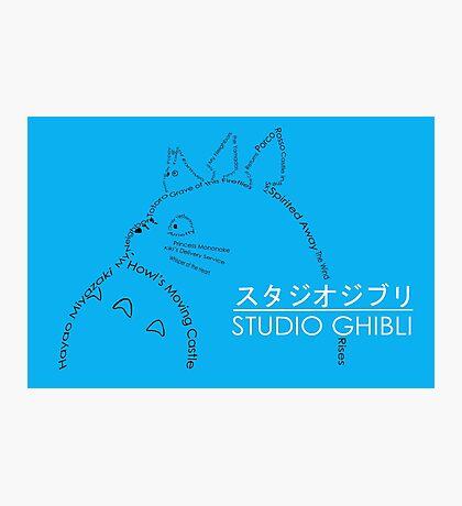 Studio Ghibli Photographic Print