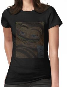 bee movie script Womens Fitted T-Shirt