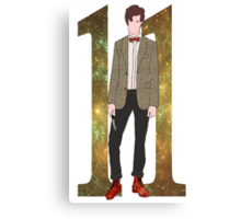 The Eleventh Doctor.  Canvas Print