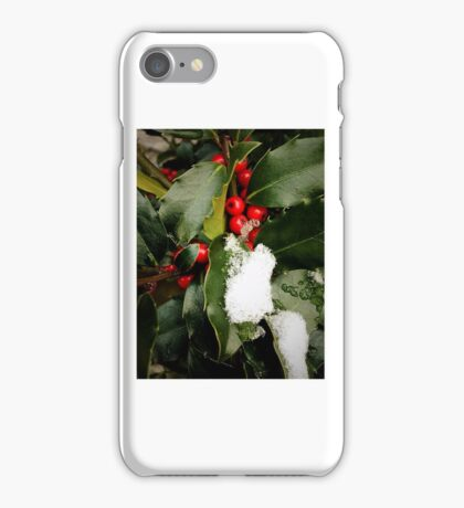 Holly & Snow  iPhone Case/Skin