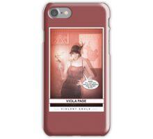 Violent Souls - Viola Page iPhone Case/Skin
