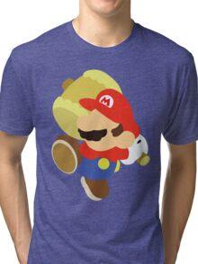 Paper Mario (Simplistic) Tri-blend T-Shirt