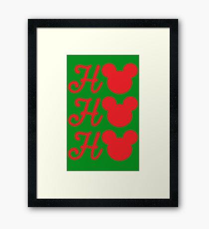 Ho,Ho,Ho Framed Print
