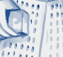 Handheld Cheese Grater Grating Watercolor Sticker