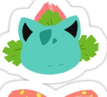Kanto Grass Starters Sticker