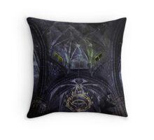 Dark Chapel Throw Pillow