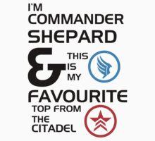 I'm Commander Shepard by MoniqueFrances