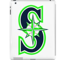 Mariners Seahawks iPad Case/Skin