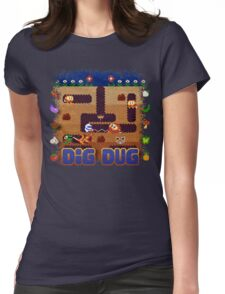 Dug Dig Womens Fitted T-Shirt