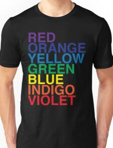 ROYGBIV Reverse by BenCapozzi Unisex T-Shirt