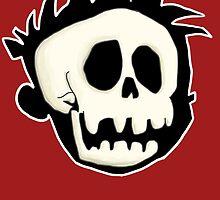 Calvin's Skull by PowerMonkey