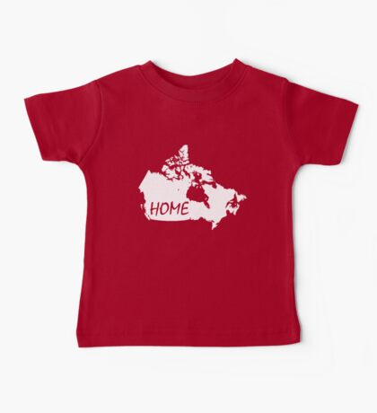 Canada Home Baby Tee