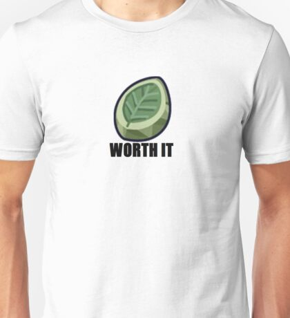 Worth It - Leaf Stone Unisex T-Shirt
