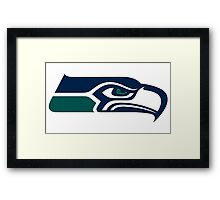 Seahawks Mariners Framed Print