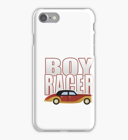 Ironic Boy Racer iPhone Case/Skin