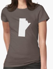 Manitoba Womens Fitted T-Shirt