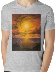 Everyday Sunrise Mens V-Neck T-Shirt