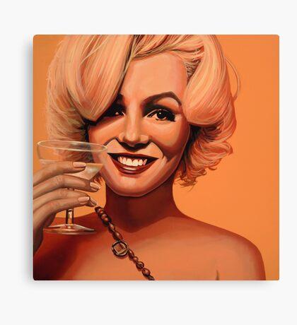 Marilyn Monroe 5 Painting Canvas Print