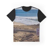 Late Morning By The Atlantic Ocean | Montauk, New York Graphic T-Shirt