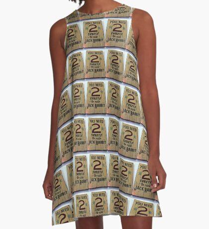 Coaster A-Line Dress