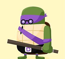 Donatello in Disguise by mykowu