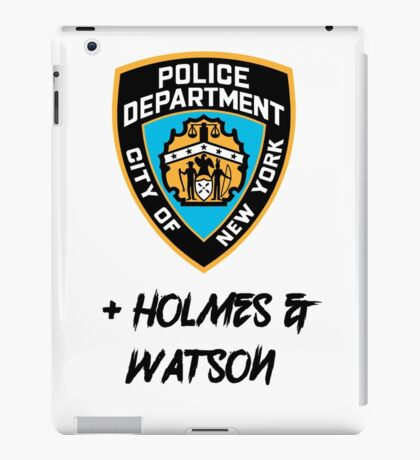 Elementary- Plus Holmes & Watson iPad Case/Skin