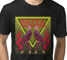 Katya Zamolodchikova - Pants on the runway Tri-blend T-Shirt