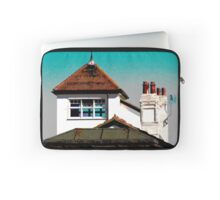 Sea Tower Posterized Laptop Sleeve