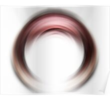 Enso Blush - Abstract Art By Sharon Cummings Poster