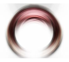 Enso Blush - Abstract Art By Sharon Cummings Photographic Print