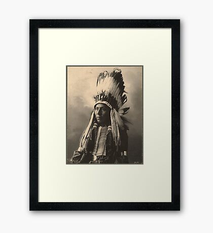 Hubble Big Horse - Cheyenne Framed Print