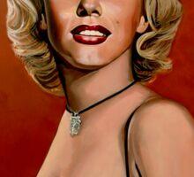 Marilyn Monroe 6 Painting Sticker