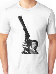 Dirty Harry Pointing a gun Unisex T-Shirt