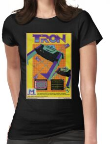 Tron Game Womens Fitted T-Shirt
