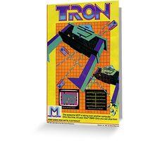 Tron Game Greeting Card