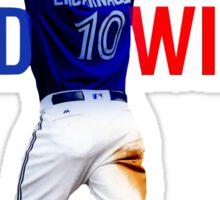 Edwin Encarnacion Wild Card Home Run Sticker