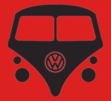 VW BUS  One Piece - Short Sleeve
