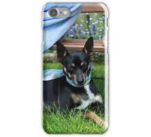 Pet the Puppy iPhone Case/Skin